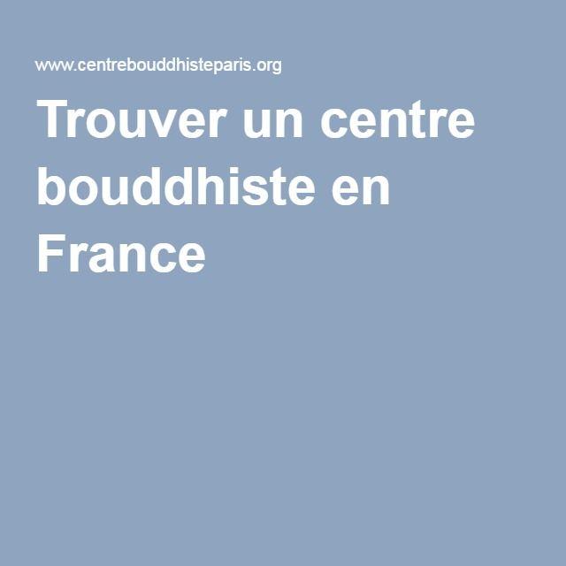 Trouver un centre bouddhiste en France