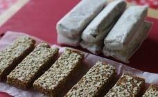These delicious bars have just two ingredients and they are just perfect for school lunch boxes. There is no baking, no nuts and they are sweet and healthy