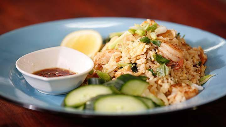 Thai Fried Rice with Prawns