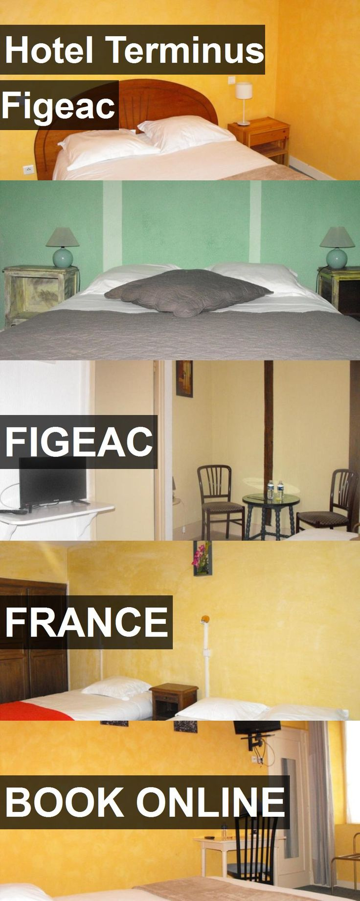 Hotel Terminus Figeac in Figeac, France. For more information, photos, reviews and best prices please follow the link. #France #Figeac #travel #vacation #hotel