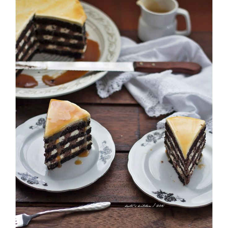 HESTI'S KITCHEN : yummy for your tummy: Black And White Russian Cake