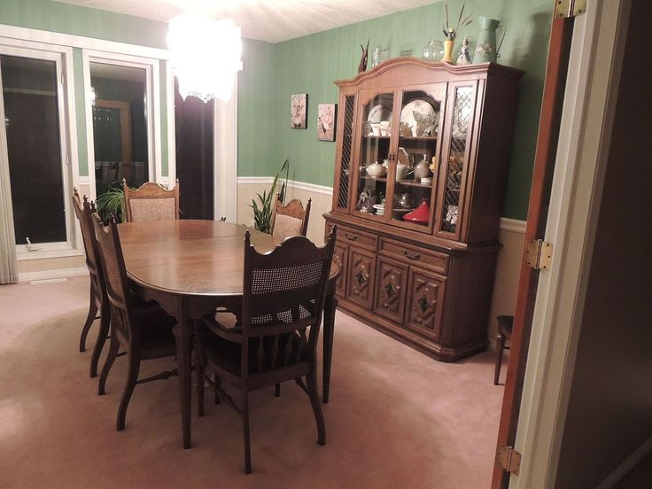 Daughter Inherits Her Parents 1950s Dining Set And Turns It Into A Gorgeous New Room Piece