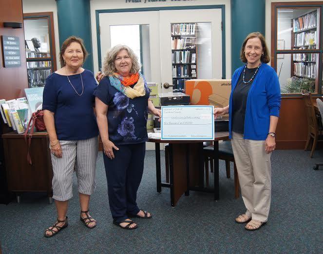 Women's Club of Caroline County awards Caroline County Public Library grant.
