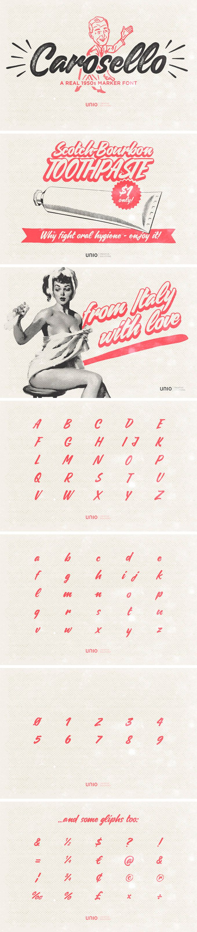 Carosello Font | Unio | Creative Solutions                                                                                                                                                                                 More