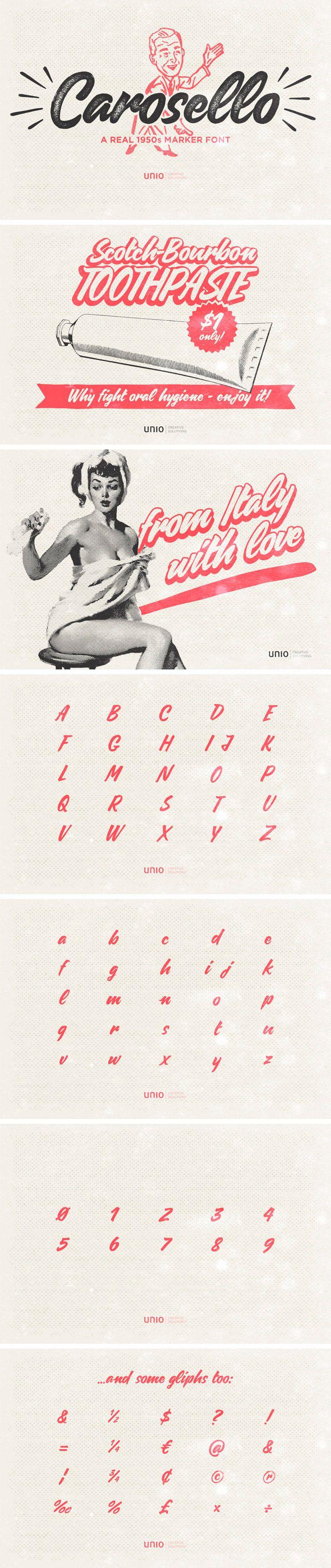 Carosello Font | Unio | Creative Solutions