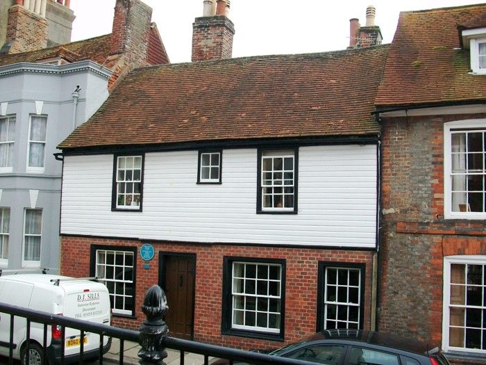 5 High Street Hastings Gabriel and Lizzie stayed here in 1854