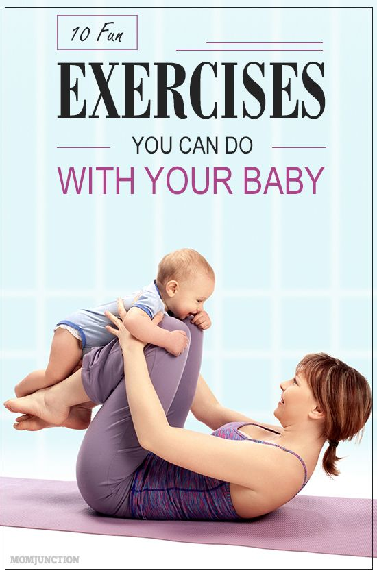 Are you a new mom who constantly complains of the lack of time to exercise? Exercise with baby can be a good option. Read this article to fin out more about this.