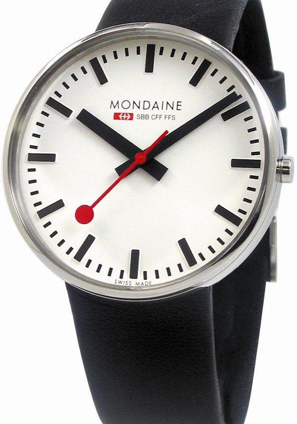 Mondaine Railway Watch - Giant Original - First saw this when in Britain.  Finally got one for my birthday - I love it.