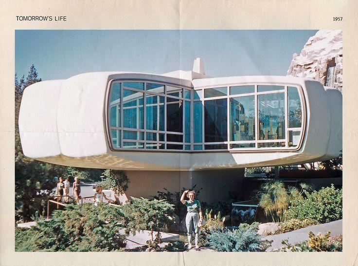 Как представляли дом будущего в 1957-м. Изображение №2.