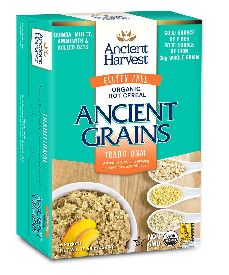 Ancient Harvest - Ancient Grains Traditional Hot Gluten-Free Cereal