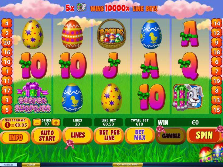 Habe jetzt Spaß bei unsere neusten kostenlos online Automaten Spiel Easter Surprise - http://freeslots77.com/de/easter-surprise/