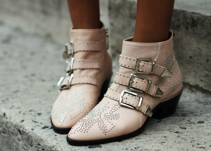 Love my new boots! Perfect pale blush pink! On sale : http://rstyle.me/~FHnT