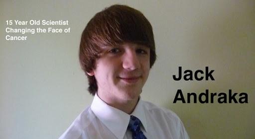 JACK ANDRAKA: Il ragazzo che ha scoperto come sconfiggere il cancro - SALUTE E BENESSERE ALLEDEN