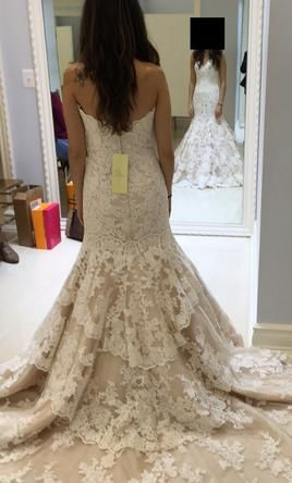 Allure Bridals 9215 4: buy this dress for a fraction of the salon price on PreOwnedWeddingDresses.com
