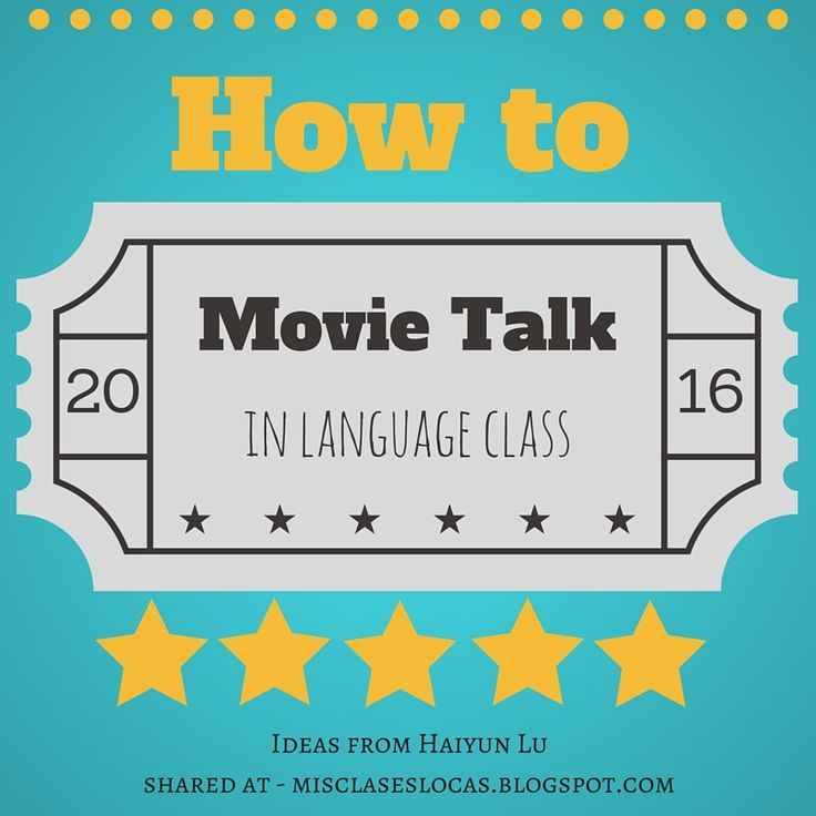 This past weekend at CI:Comprehensible Iowa Conference I went to a really great session on Movie Talk, from Haiyun Lu (@Haiyunlu &@ignitech...