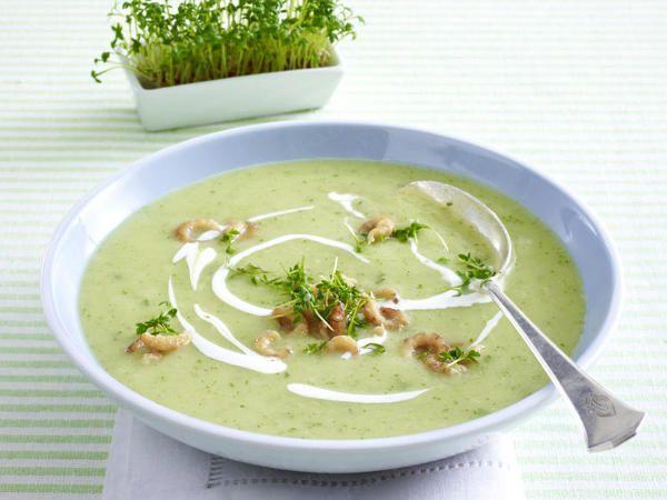 Single-Rezepte für jeden Tag - Kresse-Suppe_mit_Krabben  Rezept