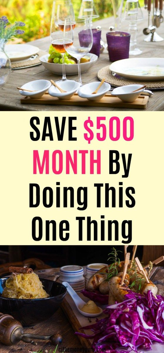 How I Save $500 a Month by Cutting This One Thing Out