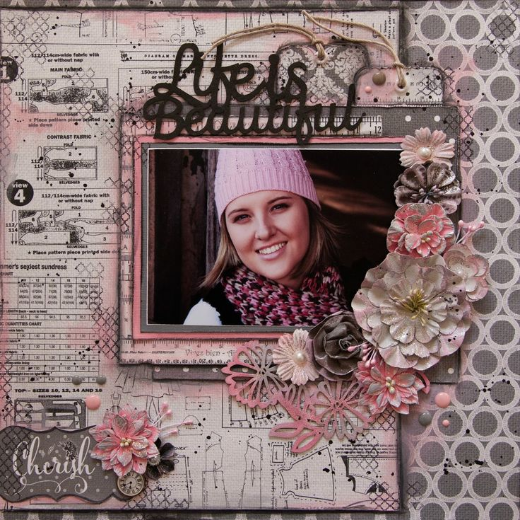Love From FabScraps: Tutorial by Adri Du Preez | C75 Tranquility Collection