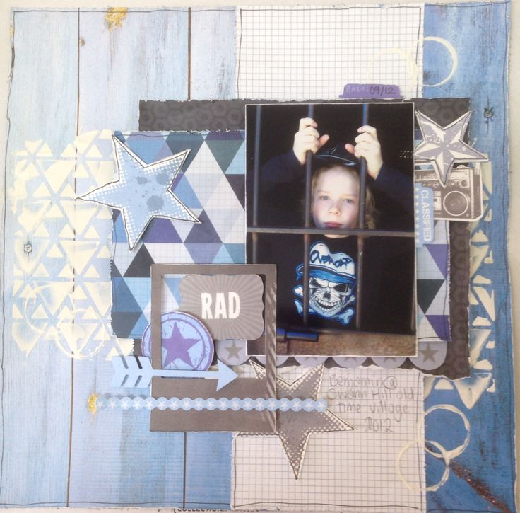 Off the Wall. Kaisercraft. MakeApage Scrapbooking. Kylie Hughes. Australia 2014
