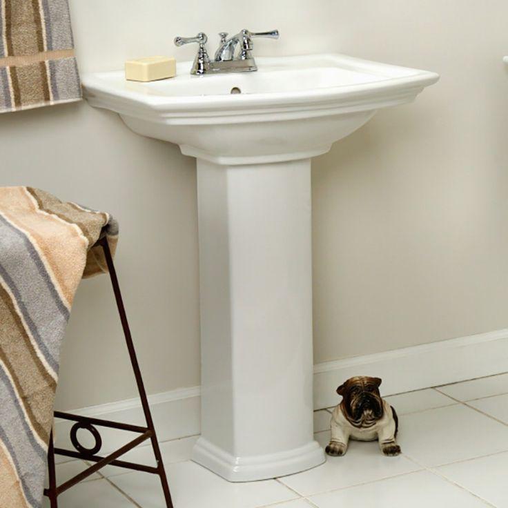 Best 25 Pedestal Sink Bathroom Ideas On Pinterest