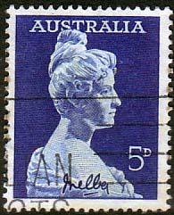 Australia 1959 SG 340 Dame Nellie Melba Fine Used       SG 340 Scott 341    Condition Fine Used       Only one post charge applied on multipule