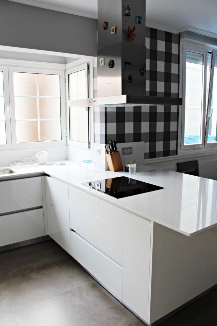 Muebles Bajos De Cocina Blancos Azarak Com Ideas Interesantes  # Muebles Bajos De Cocina