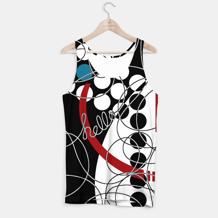 Unique unisex cut full print tank top. Easy to dry and perfect for those who like to move around a lot.Stylish, nice and comfy - no matter how often you wash it, it won't fade away or loose it's shape.Create all over printed tank top with galaxy, marijuana, emoji, nebula - choose your favourite!Live Heroes guarantees the highest quality of all products purchased. If your order isn't what you expected, feel free to contact our Customer service team. We'll do our best to make ...
