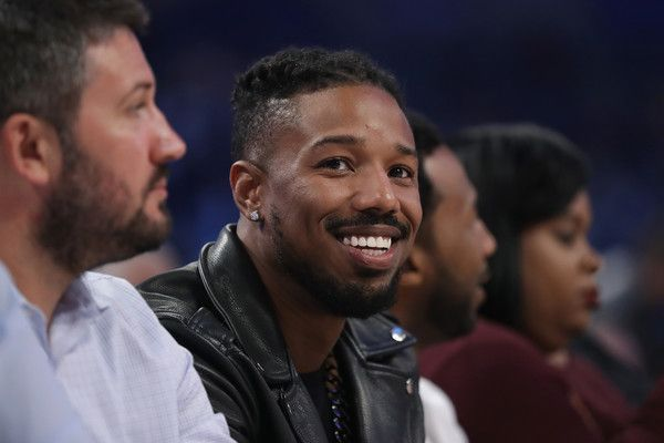 Michael B. Jordan Photos Photos - Michael B Jordan attends the 2017 Taco Bell Skills Challenge at Smoothie King Center on February 18, 2017 in New Orleans, Louisiana. NOTE TO USER: User expressly acknowledges and agrees that, by downloading and/or using this photograph, user is consenting to the terms and conditions of the Getty Images License Agreement. - Taco Bell Skills Challenge 2017