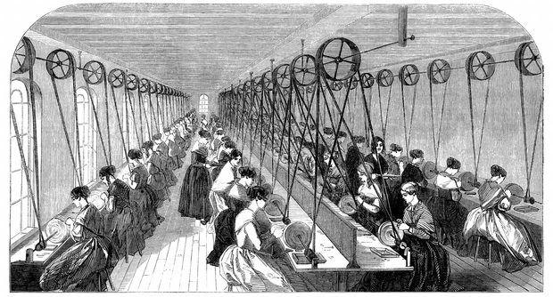 Lista de invenções da Revolução Industrial