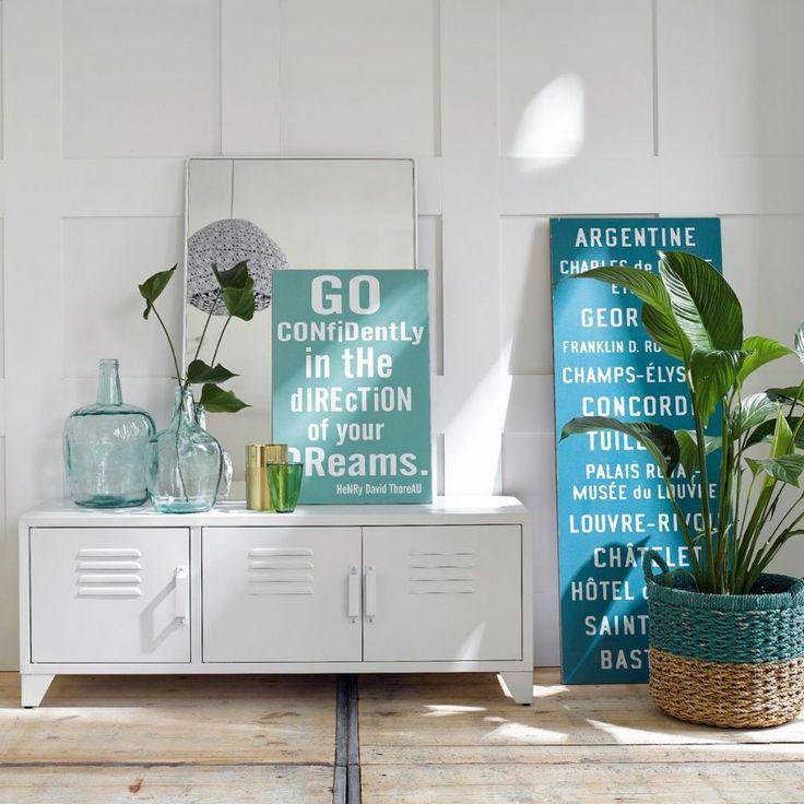 meuble rangement enfilade blanc pour une chambre green le blog dco de mlc