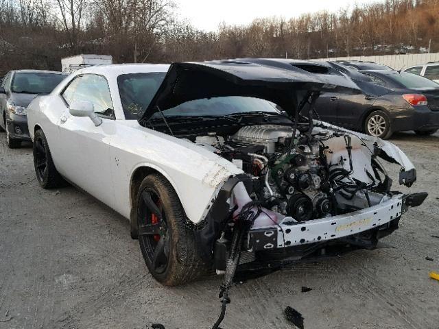 Salvage 2017 Dodge Challenger Srt Hellcat Dodge Challenger Srt