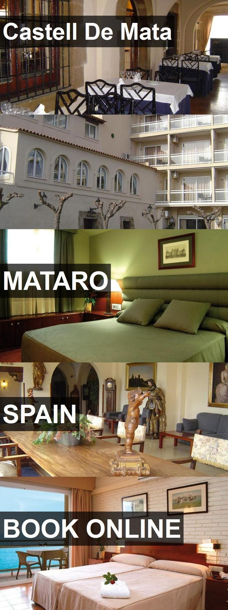 Hotel Castell De Mata in Mataro, Spain. For more information, photos, reviews and best prices please follow the link. #Spain #Mataro #travel #vacation #hotel