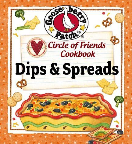 FREE e-Cookbook: Gooseberry Patch – 25 Dips & Spreads! #recipes