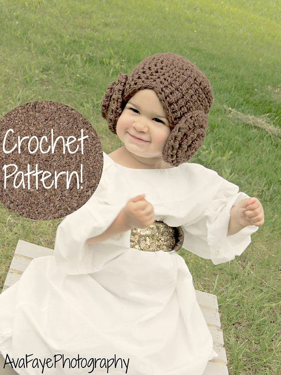 Free Crochet Baby Wig Hat Pattern : 1000+ ideas about Princess Leia Costume Child on Pinterest ...