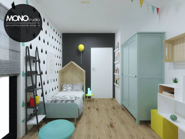 Pokój niemowlaka : Skandinavische Kinderzimmer von MONOstudio