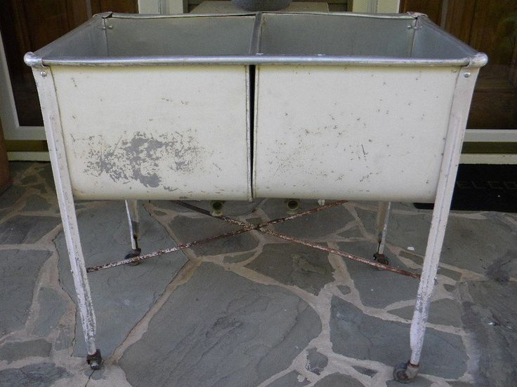 wash double party old stand vintage tub galvanized events tubs southern rental antique lowes laundry