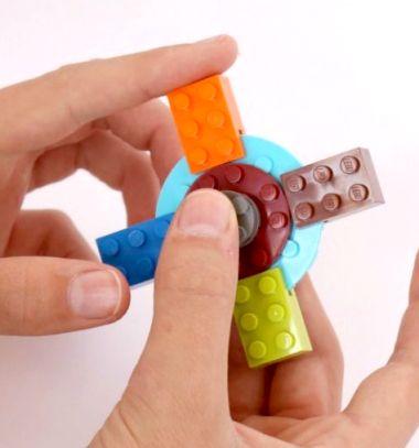 How to build a Lego Fidget spinner - free building plan / Relax Fidget pörgettyű legóból házilag egyszerűen / Mindy - craft tutorial collection