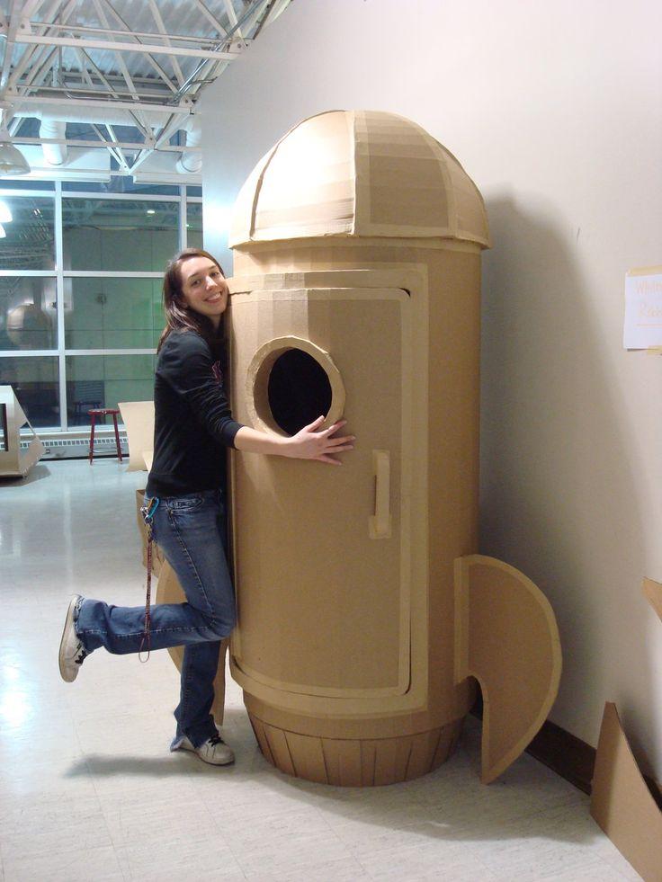 It's a Cardboard Rocket Biatch by shotgunopera.deviantart.com on @deviantART