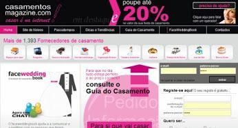 Webhouse.pt - Projeto CasamentosMagazine.pt