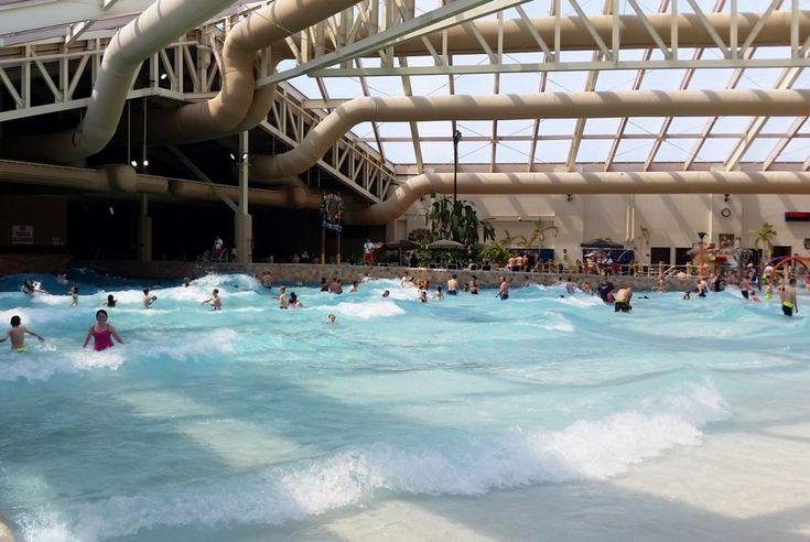Wave Pool at Wilderness Resort Wisconsin Dells