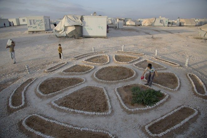 Mostly we hear stories of pain and tragedy from Syrian refugee camps. But the Za'atari Syrian refugee camp in Jordan, a place where Green Prophet's Laurie Balbo