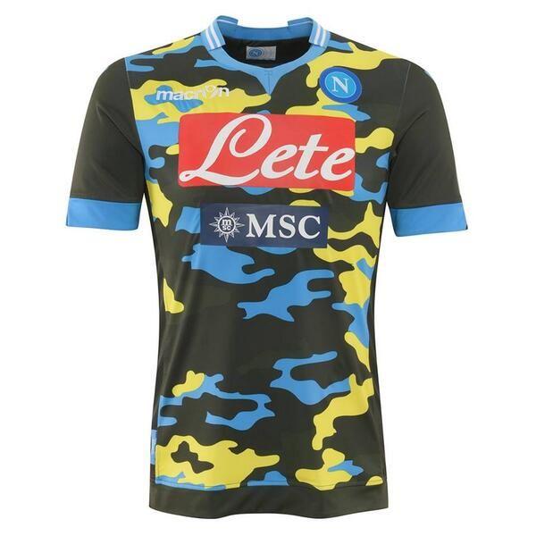 Napoli 2013/14 3rd, the 'Xtreme' kit.
