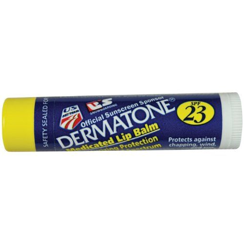 Misc. small favs that make a difference: Dermatone Lip Balm  – The best for any outdoor affair. Non-greasy, superior sun protection. I have not found a sunscreen or  lip balm that protects better.