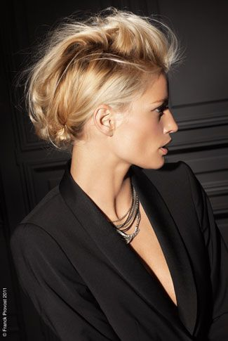 Coiffure mariage FR Pro. Coiffeur Franck Provost. Cheveux Courts, style Naturel. - Mariee.fr
