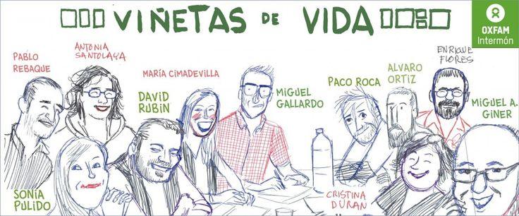 Ojo y lápiz   EL COMIC DEFIENDE LA COOPERACIÓN ESPAÑOLA