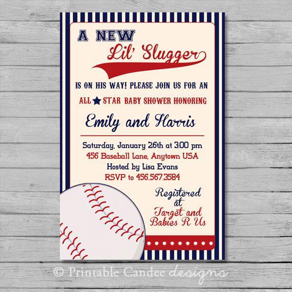 35 best Vintage Baseball Baby Shower images on Pinterest Baseball