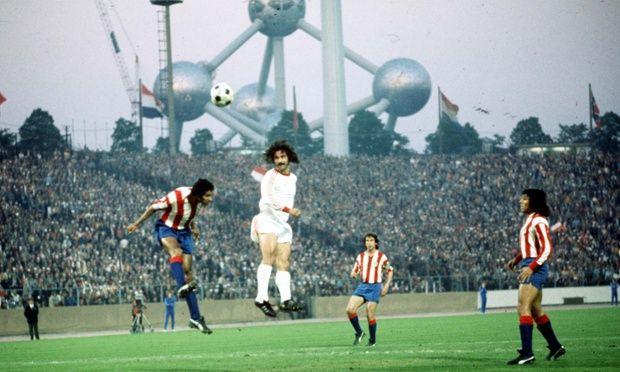 Gerd Müller, Bayern Munich v Atlético Madrid, European Cup Final, 1974.