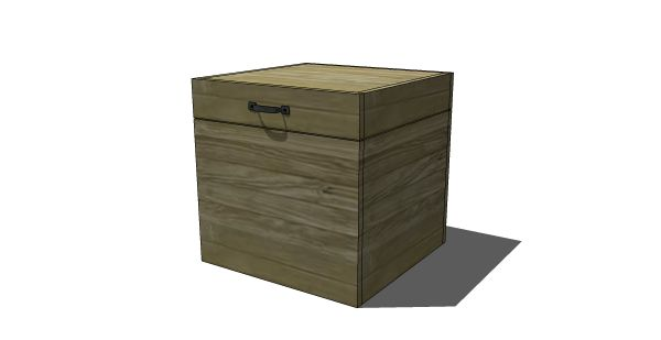 87 Best Images About Blanket Chest Plans Hope Chest