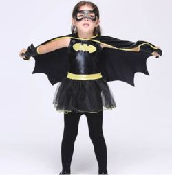 Batman Cosplay Costume For Girls CostumesforKidz $36.81  FREE SHIPPING to the United States  Description: Batman Cosplay Costume For Girls Halloween Christmas Girls Party Dress Fancy Kids Children Superhero Batman Costume Black Suit  Special Use: Costumes Components: Dresses Material: Cotton Gender: Girls Characters: batman kids dress: kids dress dress for girls: dress for girls batman: batman for just $36.81, plus FREE Shipping