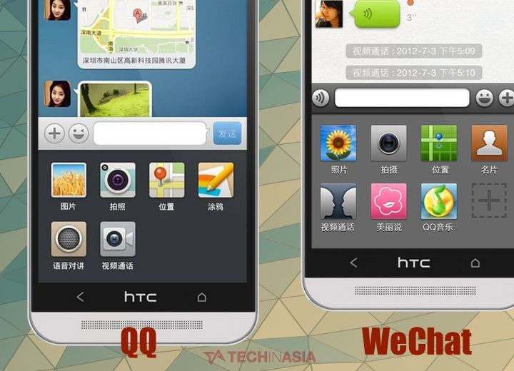 http://www.techinasia.com/everyone-hates-qq-because-it-looks-like-wechat/ Tencent's (HKG:0700) chat service QQ is used by over half a billion people and is China's top app for iPhone and Android. When the QQ mobile apps got a radical update and make-over recently to make them look more like WeChat, Tencent probably thought it was a great idea. But the vast majority of QQ users disagree – to the point of anger, hatred, and vitriol.
